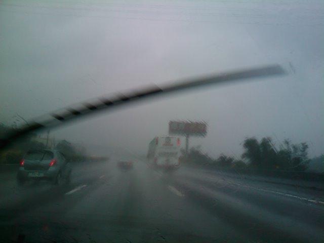 雨のバーベキュー