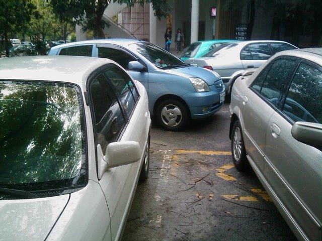 バイク式駐車法