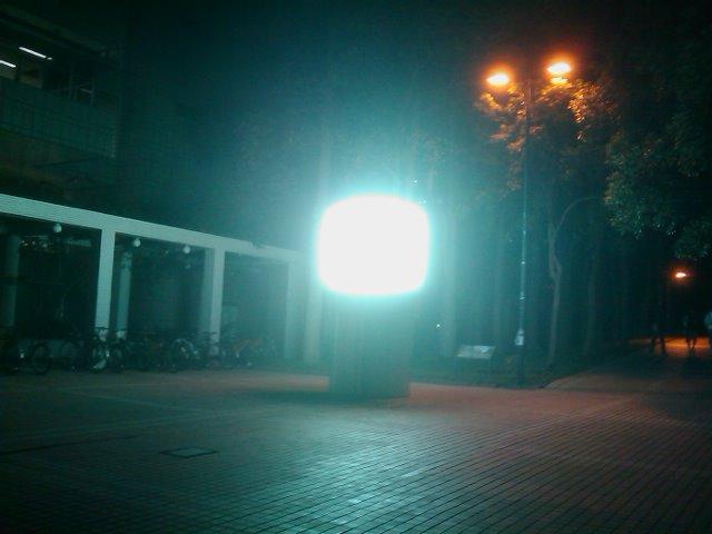 発光体と出会う夜